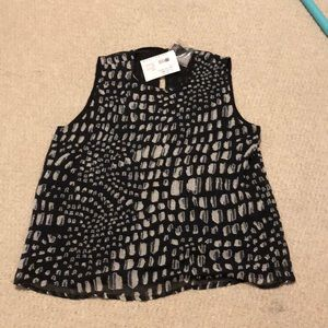 BRAND NEW WITH TAGS joie beaded top